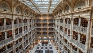 4. Biblioteka George'a Peabody'ego (Baltimore, USA)
